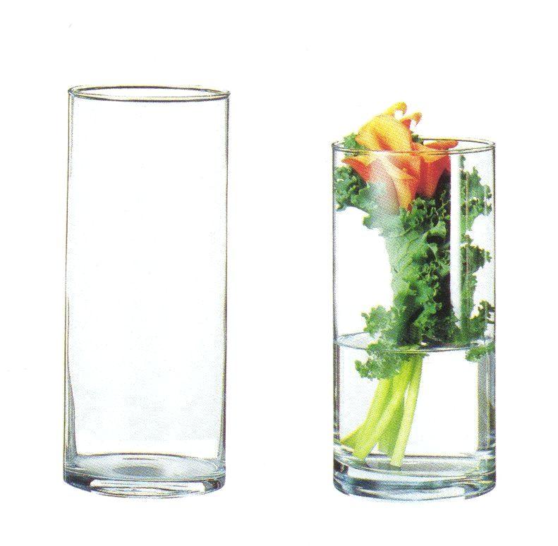 ガラス花器 シリンダー(大) Cg 11 花器ギャラリー 裕器 ゆうき)